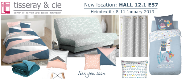 TISSERAY_HEIMTEXTIL FAIR